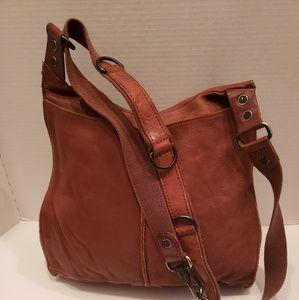 Lucky Brand Bags - Lucky Brand brown leather saddle bag